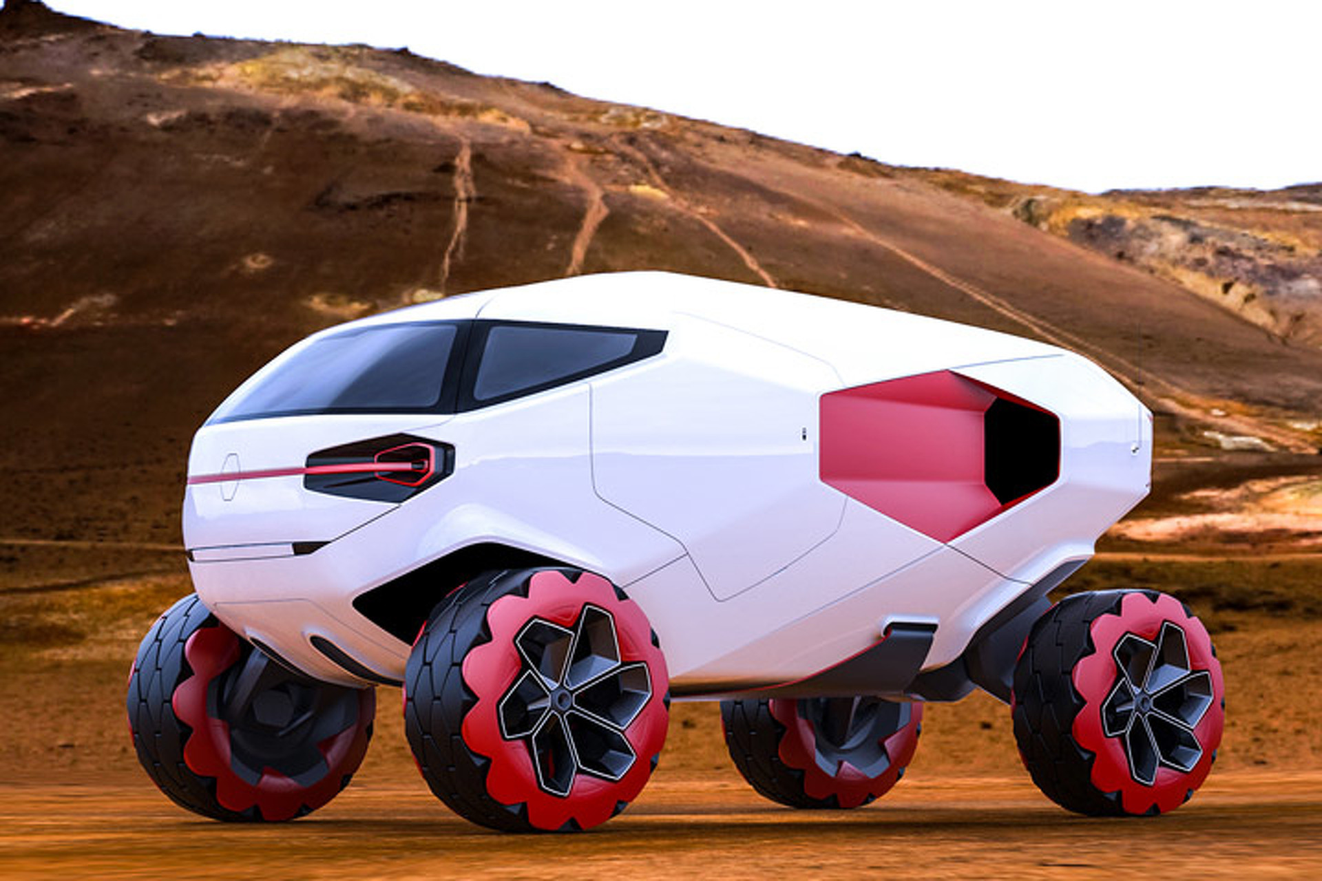 Radical DACAR Concept Could Change Off-Road Racing