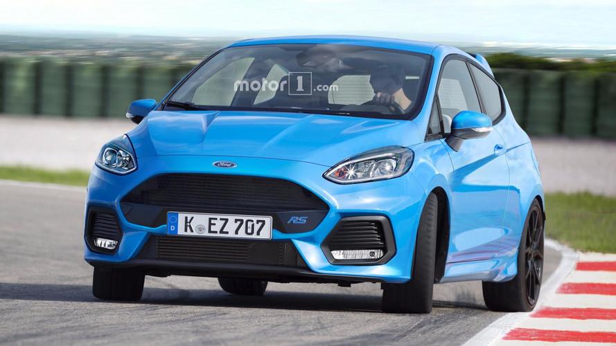 Üretilmeyecek Ford'u hayal edelim: Fiesta RS