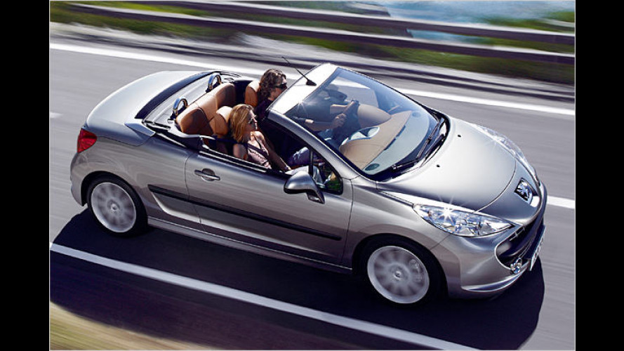 Die Katze mit dem heißen Blechdach: Neuer Peugeot 207 CC