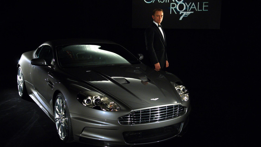 Bond cars of Daniel Craig