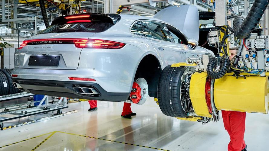 Porsche lance la production de la Panamera Sport Turismo