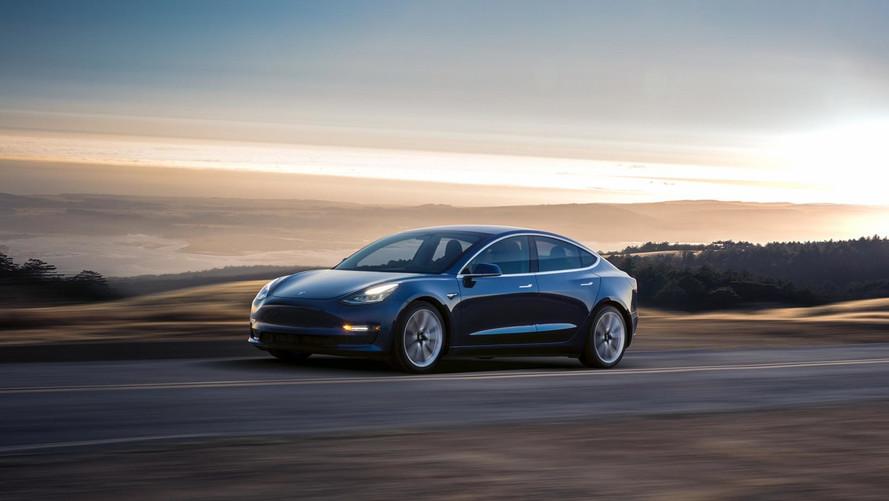 Tesla Model 3'ün EPA menzili açıklandı