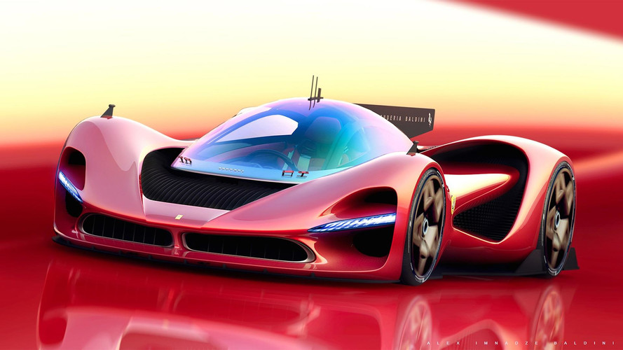 Ferrari P3 render: así sería el rival del Aston Martin Valkyrie