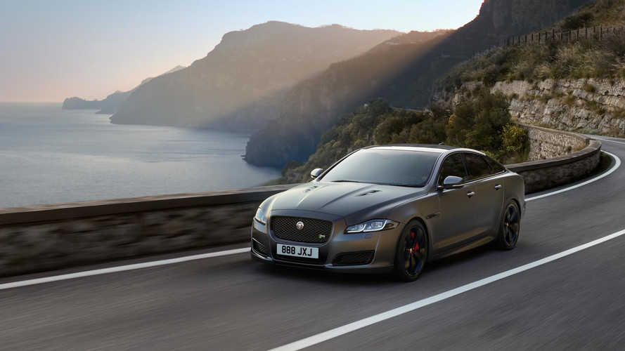 2018 Jaguar XJR575 Super Sedan Unveiled With 186 MPH Top Speed