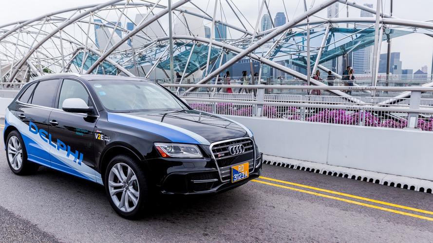 Delphi, otonom araçları 2022 yılında yola çıkarmayı planlıyor