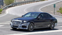 Mercedes-Benz C-Class Refresh Spy Pics
