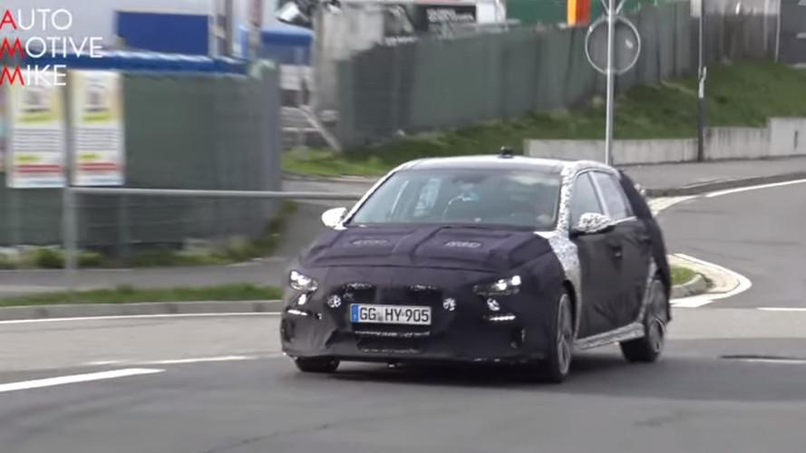 Hyundai i30 N Nürburgring antrenmanını eksik etmiyor