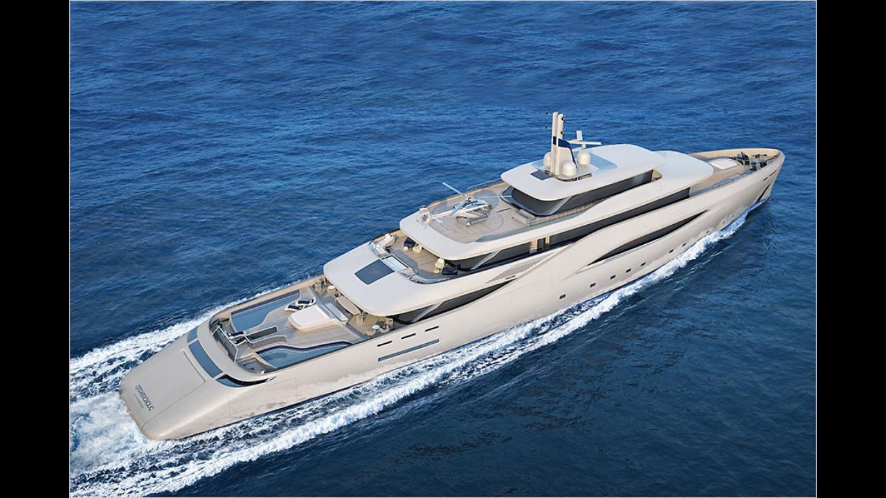 Pininfarina-Yacht ,Ottantacinque