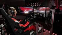 Toni Kroos sur simulateur de Formule E