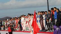 Honda Racing Día de GraciasCeremonia