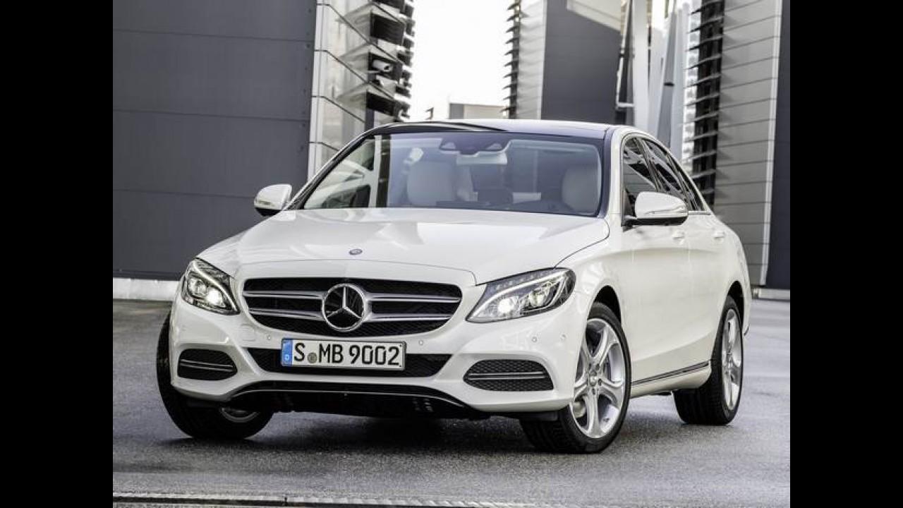 Mercedes terá novo Classe C em agosto e GLA no Salão do Automóvel