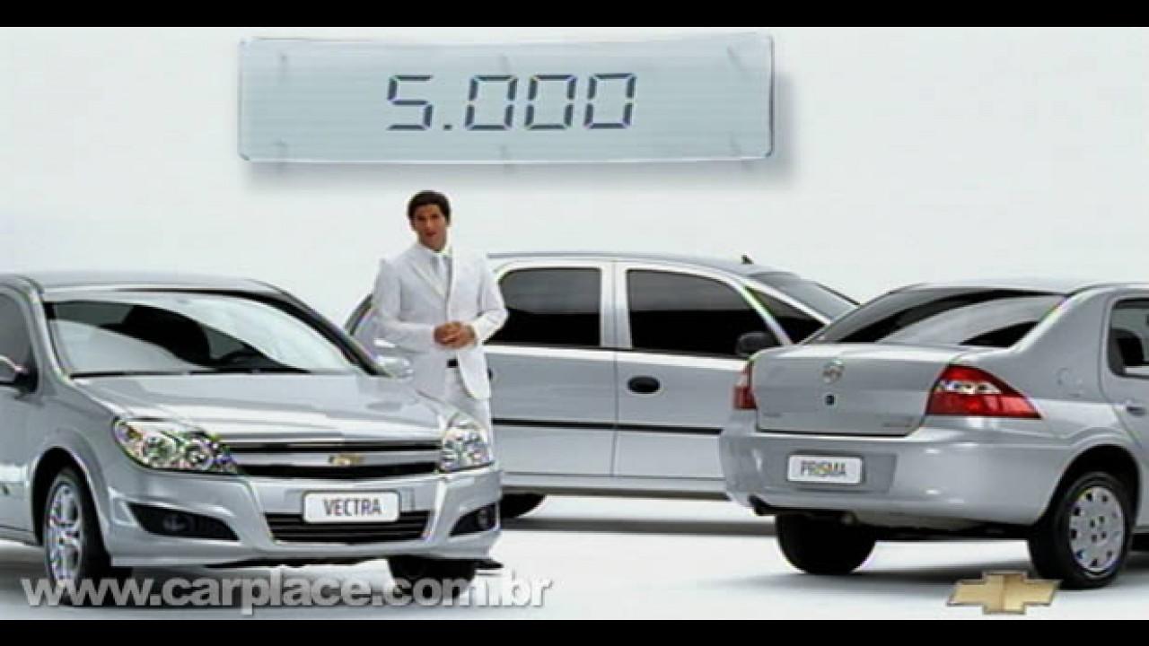 Chevrolet inicia campanha para marcar chegada da linha 2010 e queimar estoque 2009