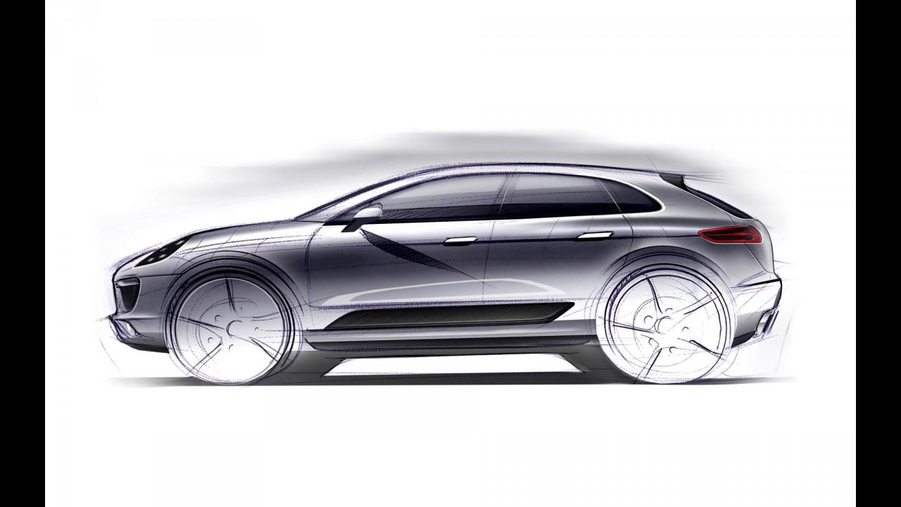 Novo SUV compacto da Porsche se chamará Macan