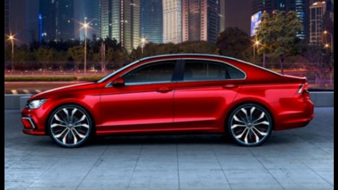 Novo Jetta? Vaza foto da versão de produção do Volkswagen NMC