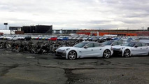Fisker Karmas burned at New Jersey port 31.10.2012