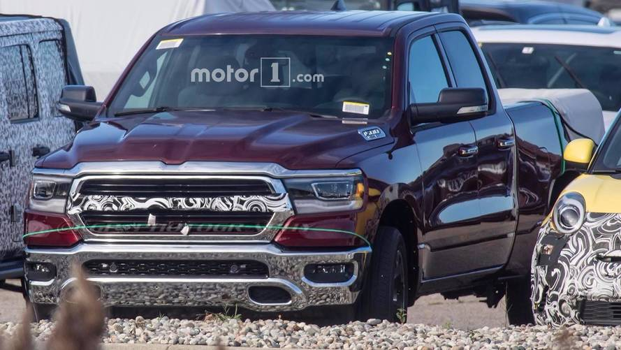2019 Ram 1500 Spied Showing Off Final Design Cues
