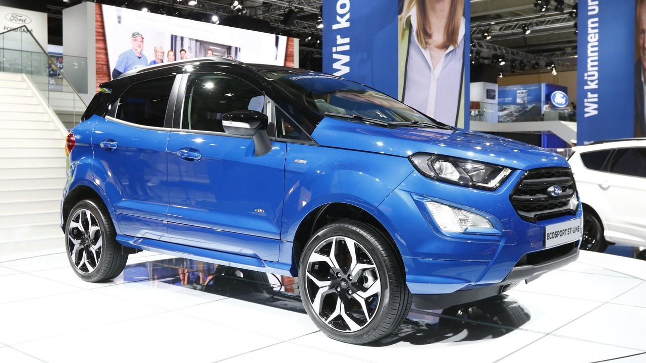 Ford Ecosport Facelift Revealed With Sporty St Line Option