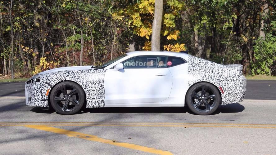 2019 Chevrolet Camaro Lineup Spy Photos