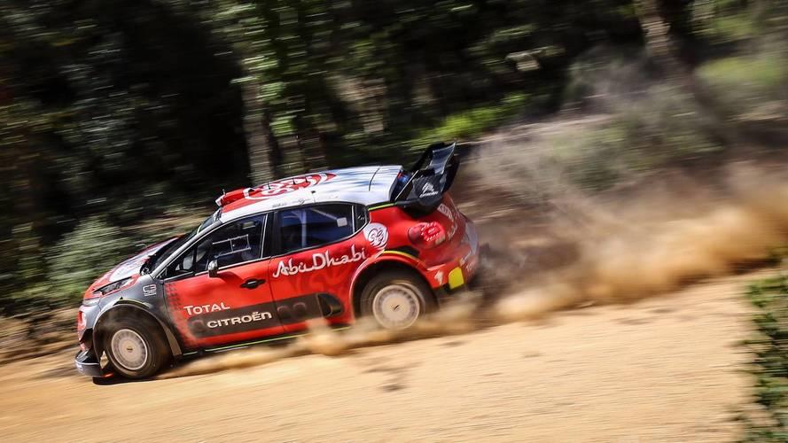 Loeb teste la Citroën C3 WRC