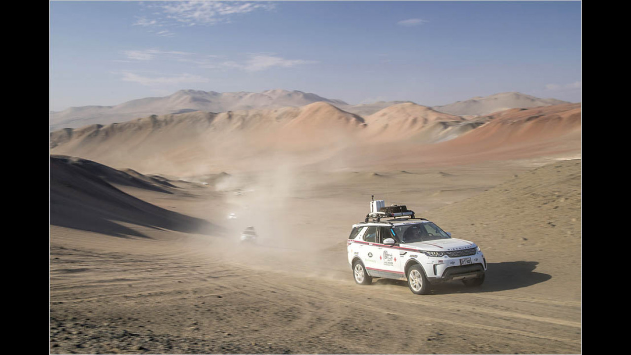 Land Rover Experience Tour 2017