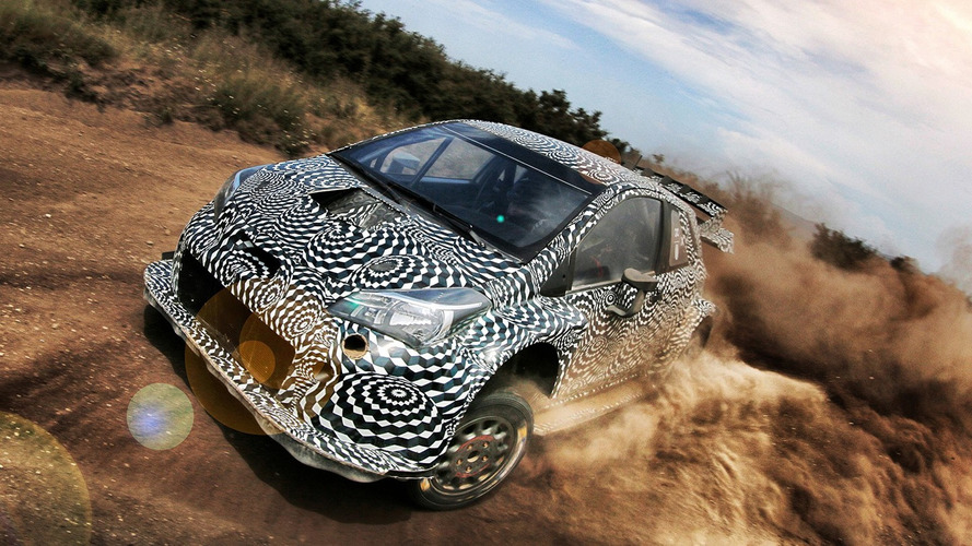 New Toyota Yaris WRC sounds angry