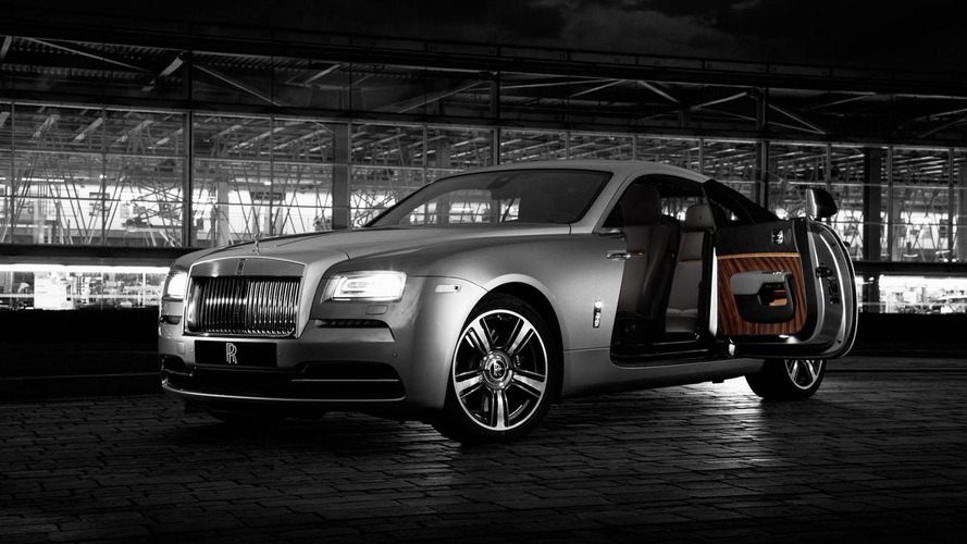 Rolls-Royce Wraith Inspired by Film special edition unveiled for New York