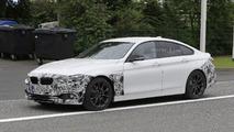 2017 BMW 4 Series Gran Coupe facelift spy photos