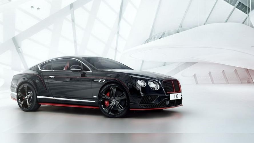 Bentley Continental GT Black Speed revealed at Australian GP