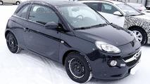 Opel Adam Cabrio spy photo