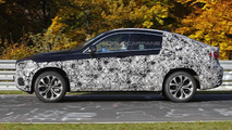 Next-gen BMW X6 spy photo 25.10.2013