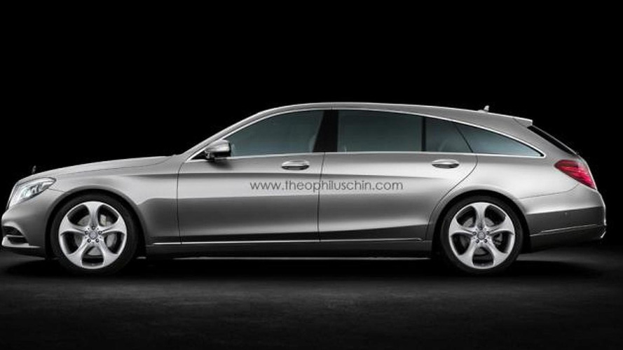 Mercedes S-Class Shooting Brake gets rendered, should the company build it?