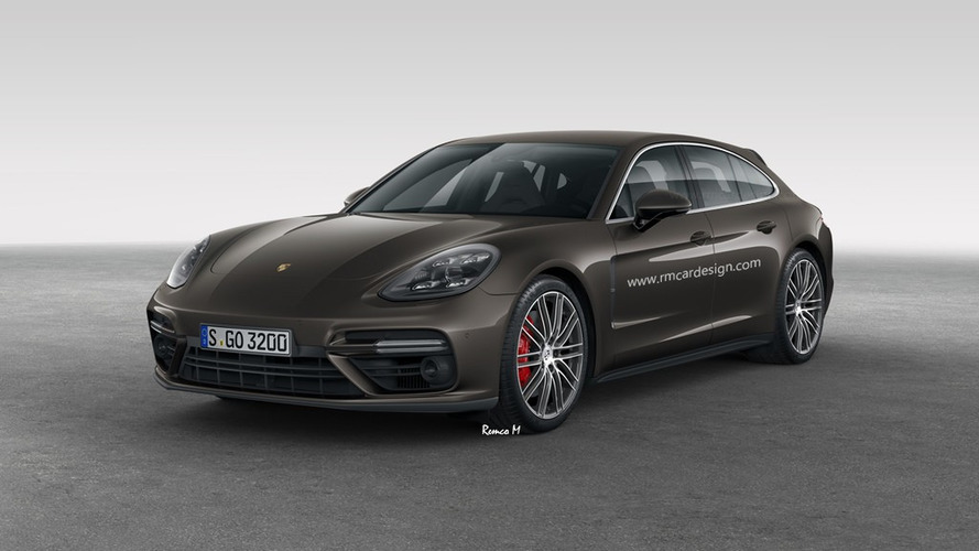 2018 porsche panamera sport turismo wagons its tail. Black Bedroom Furniture Sets. Home Design Ideas