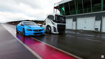 Volvo S60 Polestar versus The Iron Knight