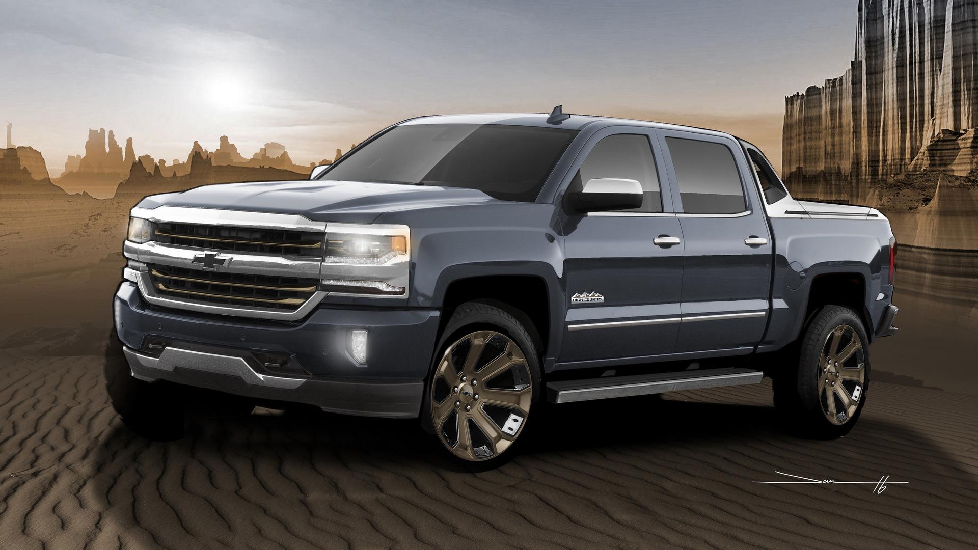 2015 Silverado For Sale >> Chevy Silverado SEMA concepts are ready for winter and desert dunes