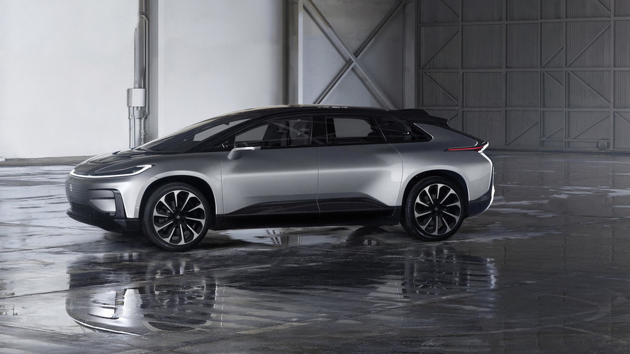 This is why Faraday Future calls its car the FF 91