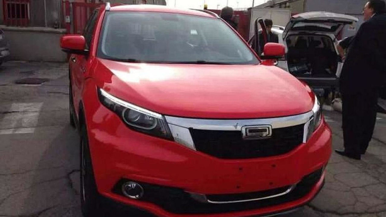 Qoros 5 spy photo