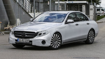 2016 Mercedes E-Class spied wearing significantly less disguise