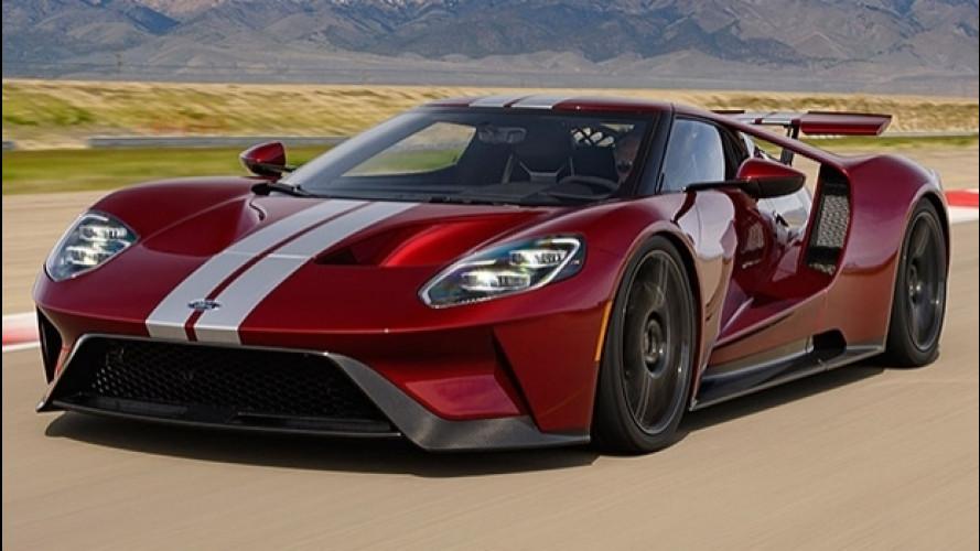 Amerikai körrekordot mentek az új Ford GT-vel