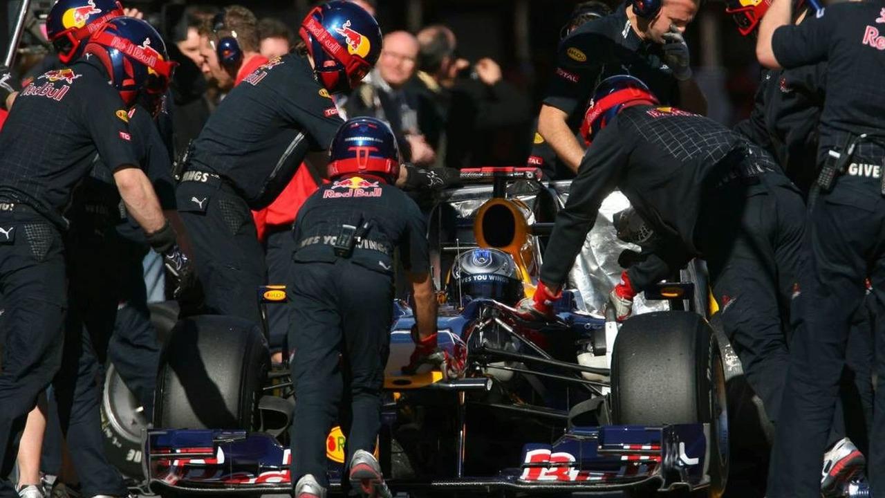 Sebastian Vettel (GER), Red Bull Racing, 26.02.2010, Barcelona, Spain