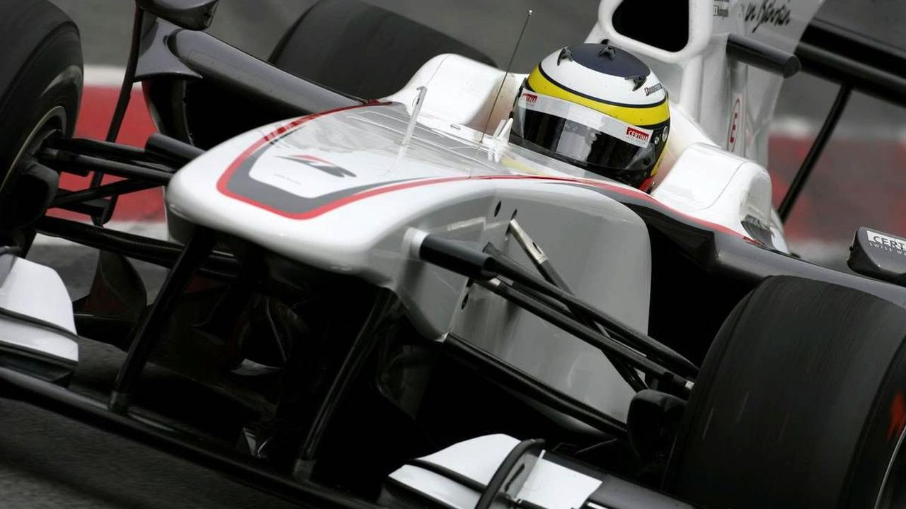 Pedro de la Rosa (ESP), BMW Sauber F1 Team - Formula 1 Testing, 25.02.2010, Barcelona, Spain