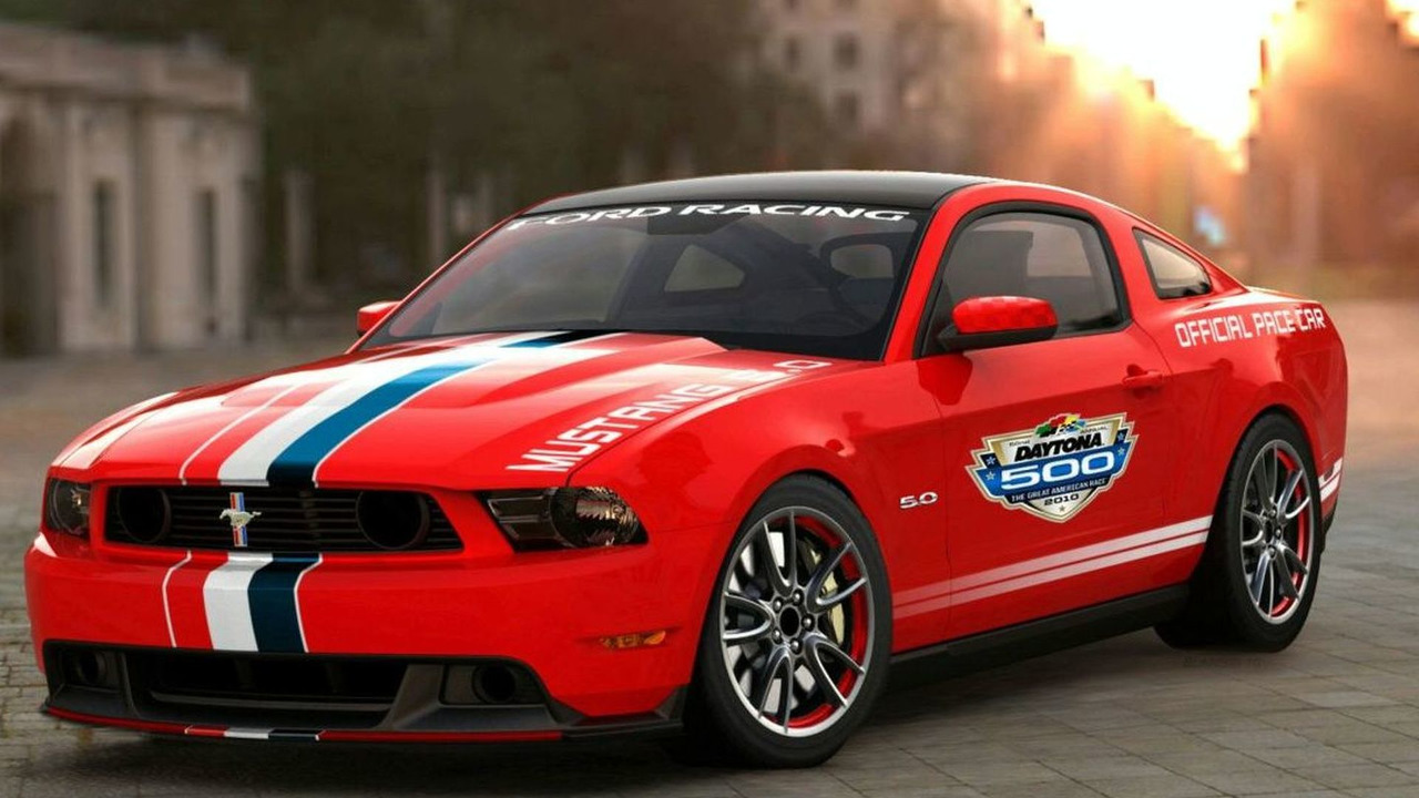 2011 Ford Mustang GT Official Pace Car of the Daytona 500