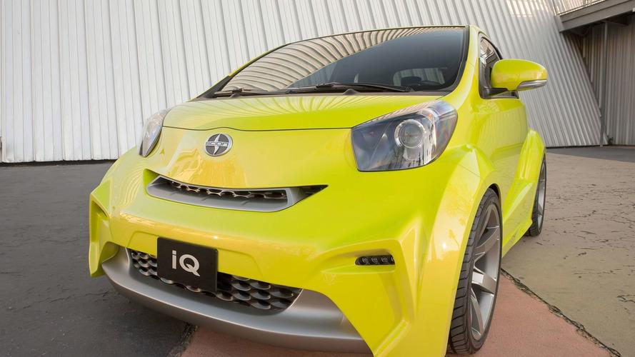Scion IQ Concept Unveiled in New York
