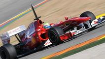 Felipe Massa (BRA), Scuderia Ferrari - Ferrari F10 Testing, 02.02.2010 Valencia, Spain