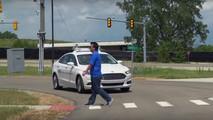 Ford Fusion autonomous prototype demonstration