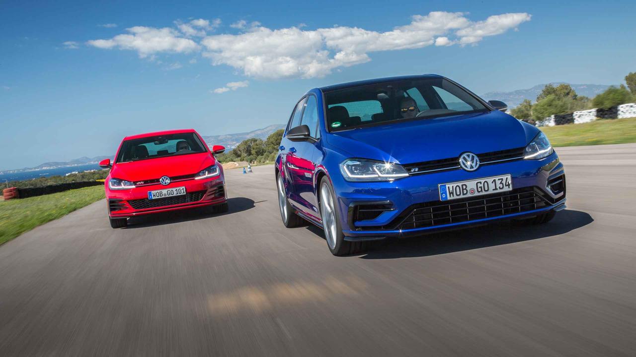 Volkswagen Golf R vs GTI Performance