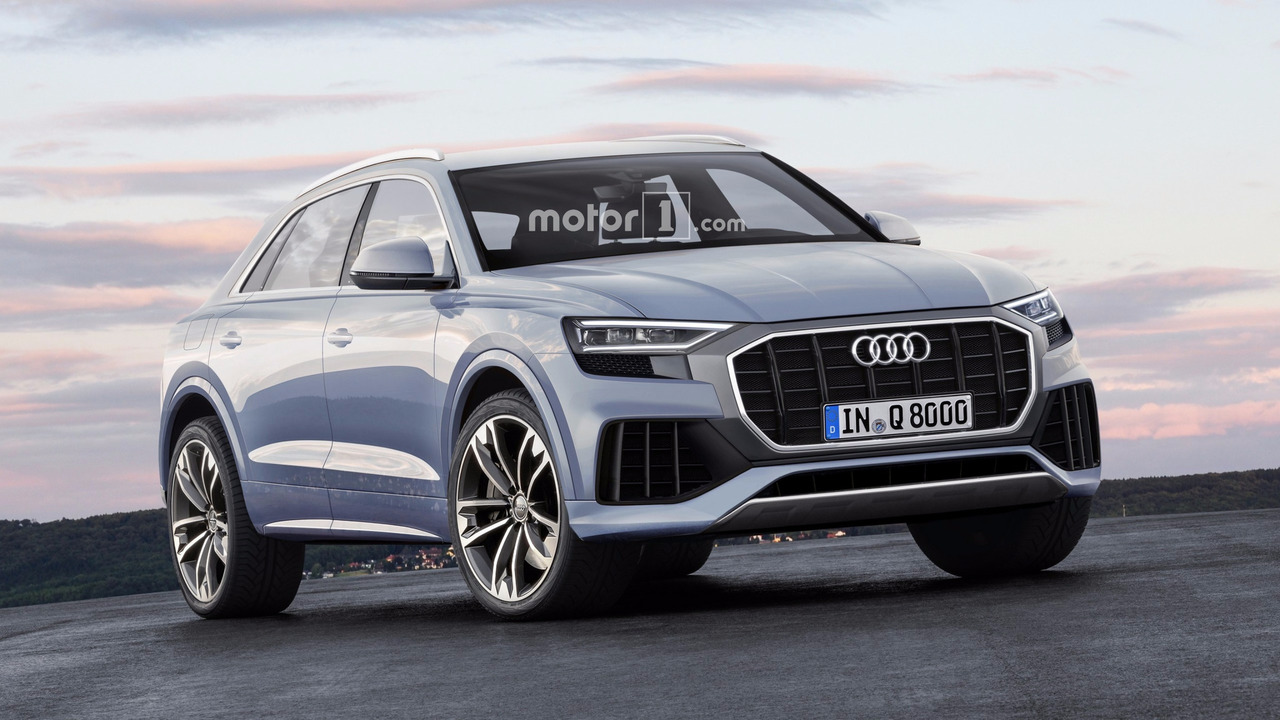 Big Bold Audi Q8 And Q8 Rs Rendered
