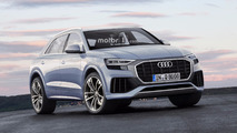 Recreaciones Audi Q8 y RS Q8 2018