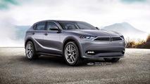 New generation Dodge Journey - Allpar rendering