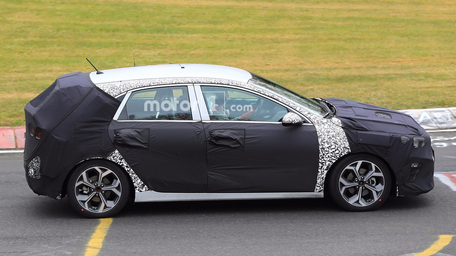 2018 Kia Cee'd Spied Again At Nurburgring