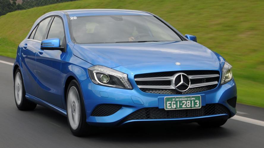 Mercedes-Benz convoca Classes A, B e CLA por falha nos freios